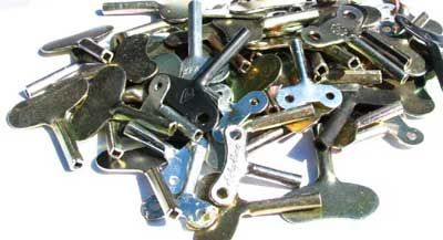 Replacement Wind Up Keys for old tin wind-up toys