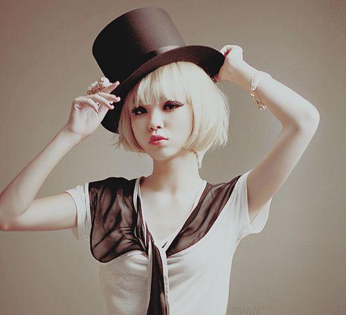 Ulzzang - Blonde Hair