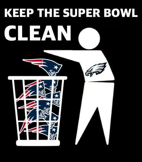 Clean The Patriots Out Of The Super Bowl Nflmemes Patriotsmemes Philadelphiaeagles Nfl Funny Philadelphia Eagles Players Patriots Memes