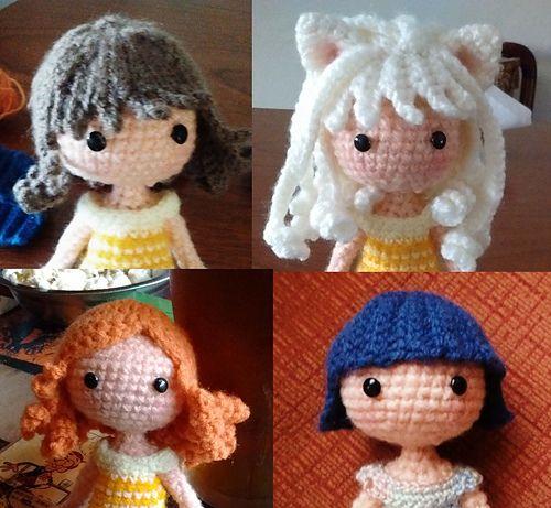 Ravelry: Amigurumi Doll 'Snowflake' pattern by Crochet Cute Dolls   461x500