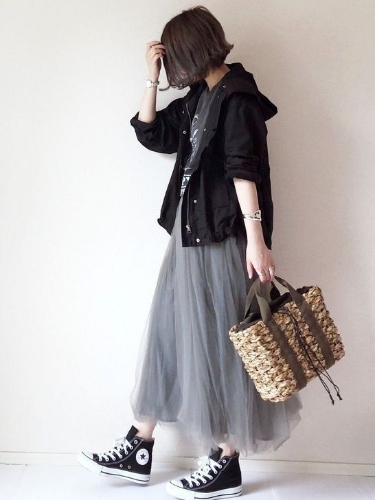 Lovable Long Skirt Outfits Ideas 52