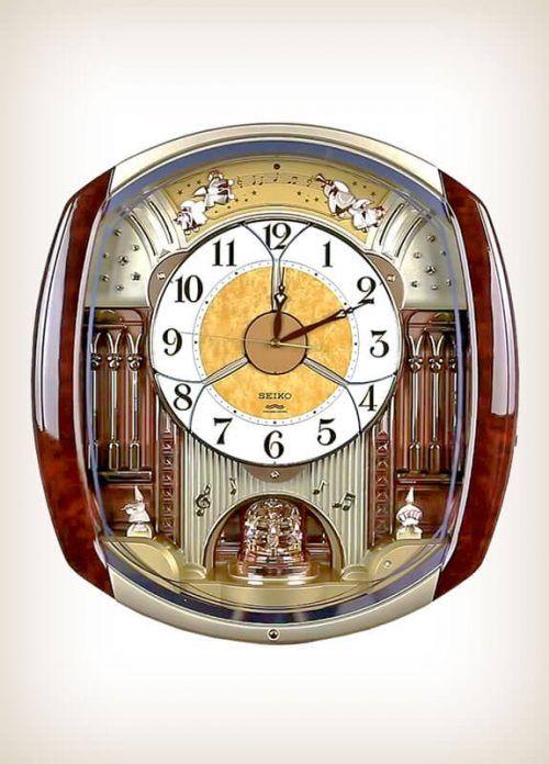 Seiko Re564h Wave Symphony Melody In Motion Wall Of Clocks Clock Seiko Wall Clock