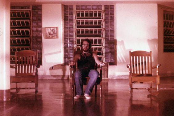 Dragonfly (1976)   Aka One Summer Love   Ira Gallen's self-portrait taken on the set