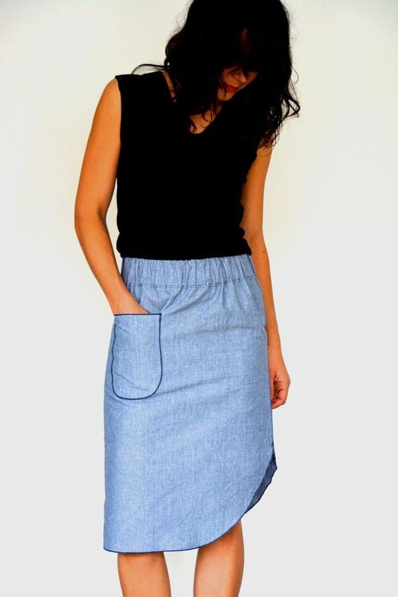 Dizzy Midi Skirts