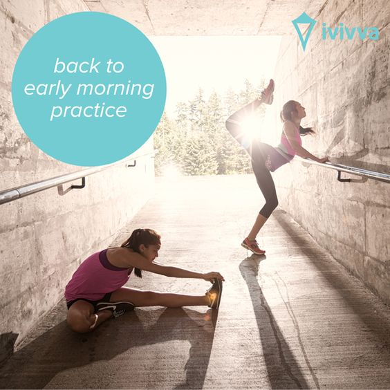 back to early morning practice | ivivva
