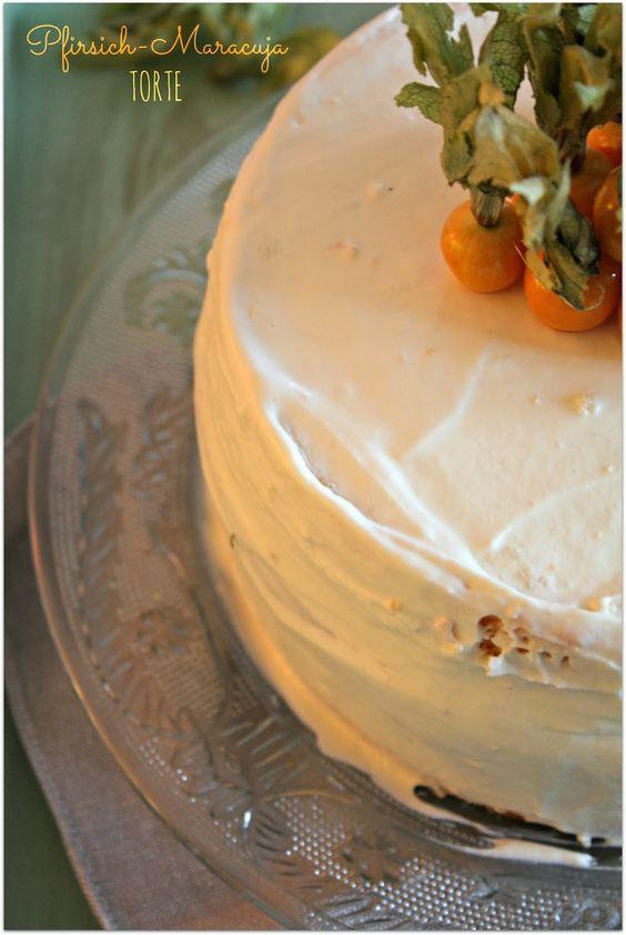 Bake a wish: Maracuja-Pfirsich-Torte - Naschen wie im Sommer