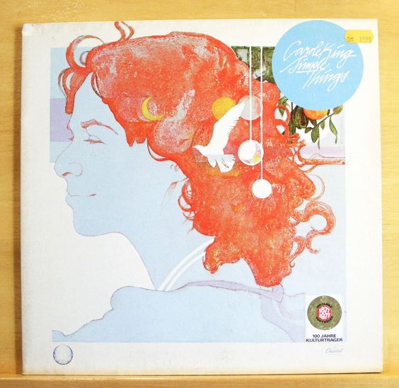 CAROLE KING Simple Things Vinyl LP - Hard Rock Cafe Hold on Labyrinth Time alone