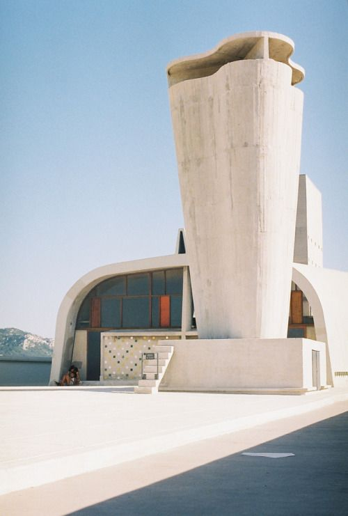 Unités d'habitation, Cité Radieuse de Marseille, Le Corbusier (1952)