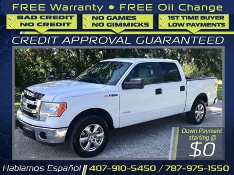 2013 Ford F 150 For Sale At Idrive Motorsport In Orlando Fl Oil Change Bad Credit Cars For Sale