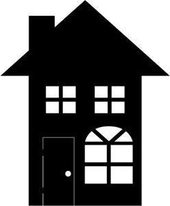 Silhouette design store view design 3104 house for House music symbol