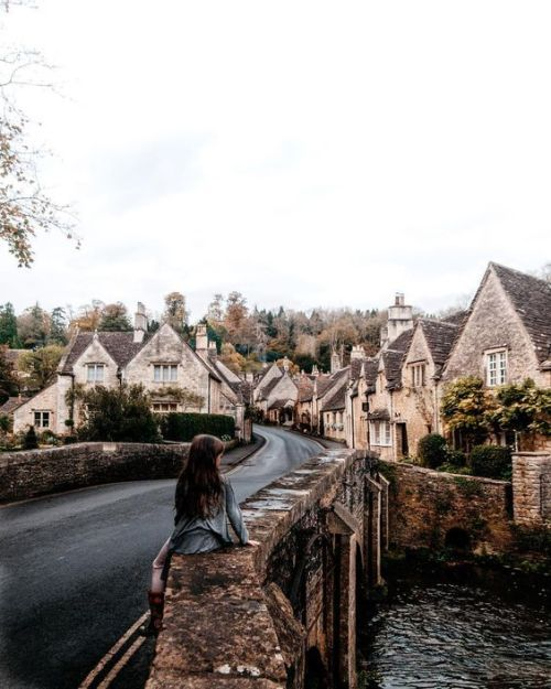 What If Winter Is Not A Place Outside Castle Combe Around The Worlds Places