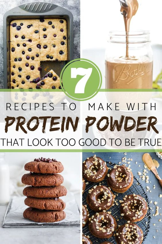 7 Recipes to make with Protein Powder - that look almost too good to be true! - Meal Plan Addict