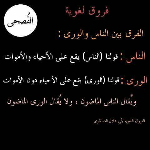 الفرق بين الناس والورى Learn Arabic Language Learning Arabic Arabic Language Learn Arabic Language Learning Arabic Arabic Language