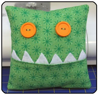It's a monster tooth pillow
