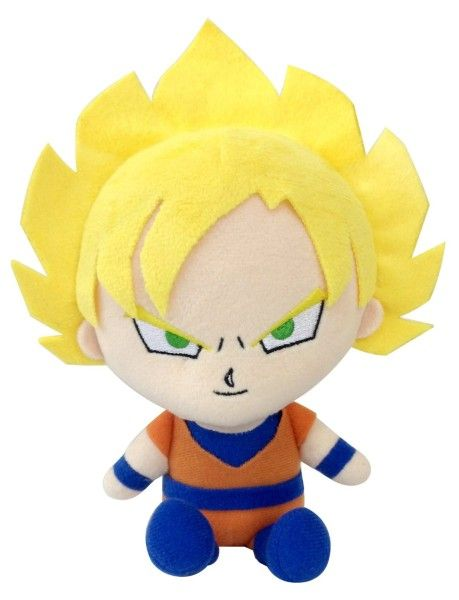 Dragon Ball Z Kai - Peluche Oficial De Goku Super Saiyajin - $ 644.00