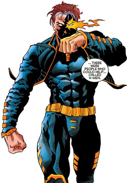 X-Man - Marvel Comics - Nate Grey - Shaman. From http://www.writeups.org/fiche.php?id=3209 .