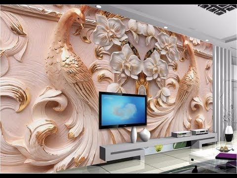 3d Wallpaper For Wall House Flat Home As Royal Decor Youtube Custom Photo Wallpaper Mural Wallpaper Photo Wallpaper