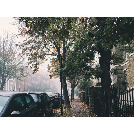 #fog#islington#london#cold#november by laurailari