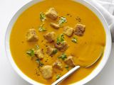 carrot ginger soup with tofu