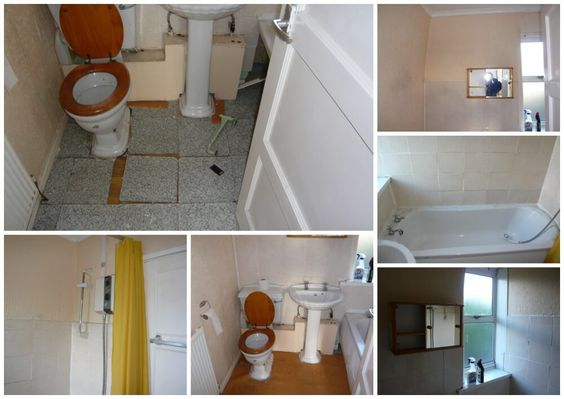 Our DIY Bathroom Before and After
