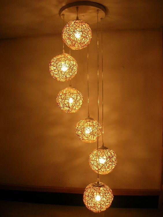 Decoração de sala de TV 5 | Luminárias Exóticas | Pinterest | TVs
