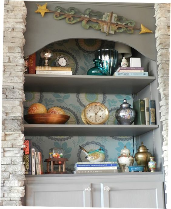» Book Shelf Styling