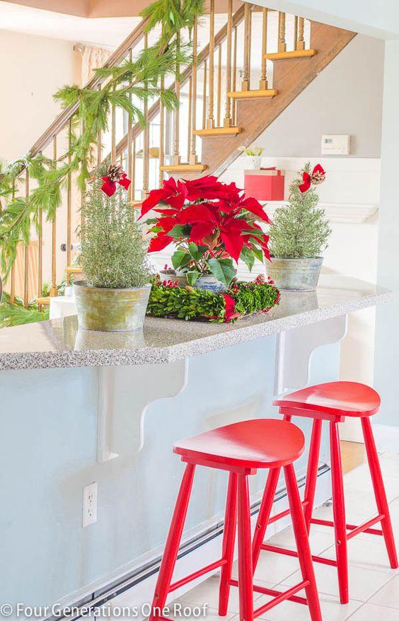 Pop red in the kitchen!