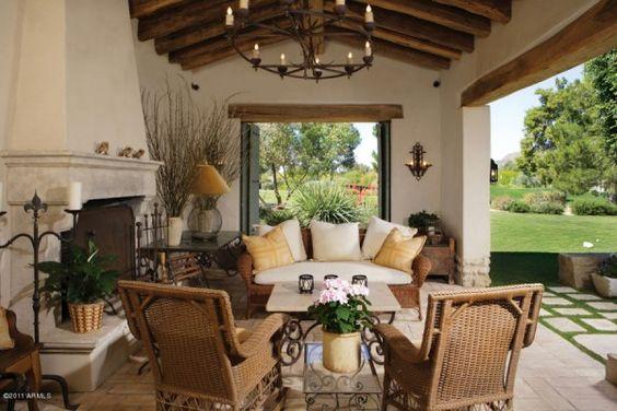 Spanish+colonial+style | Spanish Colonial Style Patio