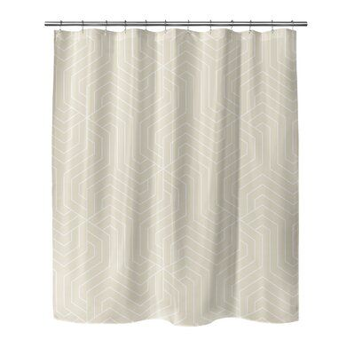 Ivy Bronx Poplar Single Shower Curtain Size Shower Curtain