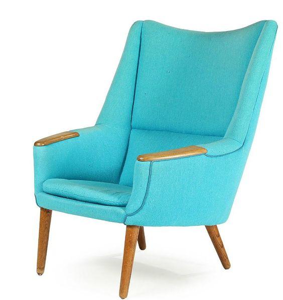 Deense vintage stoel - Kurt Ostervig