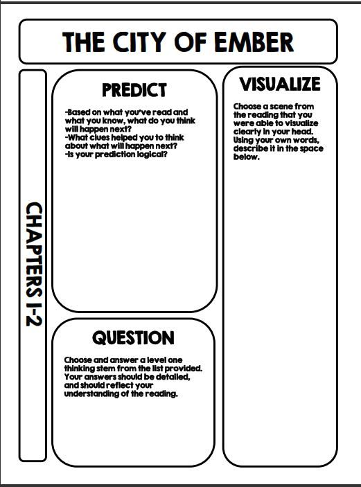 The city of ember teacher resources ccuart Images