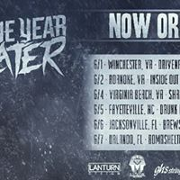"""TODAY~~~""""Now or Never! Tour"""" Featuring: It Lies Within, Blood Of The Martyrs, One Year Later Inside-Out Venue"""