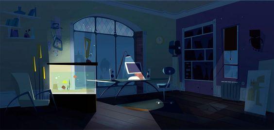Mais cenários criados para Eliot Kid, da francesa Samka Productions | THECAB - The Concept Art Blog