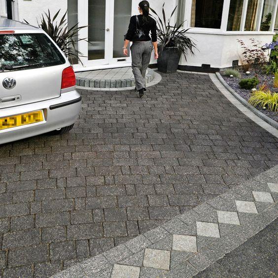 17 best images about paving argent marshalls block. Black Bedroom Furniture Sets. Home Design Ideas