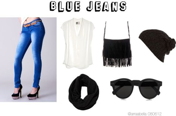 """""""Blue Jeans"""" by arraabella on Polyvore"""