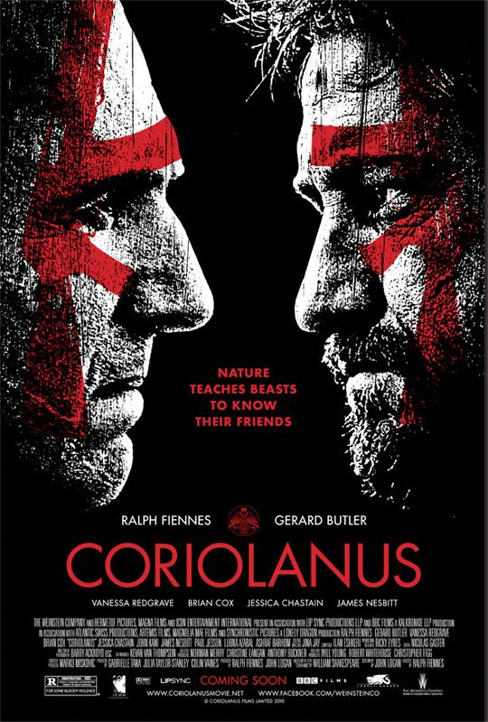 Coriolanus 2011 - I admit I am a Shakespeare addict & this production is the best!
