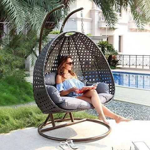 Awe Inspiring Th Round Swing 201 In 2019 Wicker Lounge Chair Swinging Ibusinesslaw Wood Chair Design Ideas Ibusinesslaworg