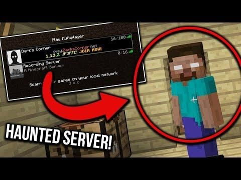 Why You Should Never Enter This Haunted Minecraft Server Cursed Server Haunting Server Minecraft