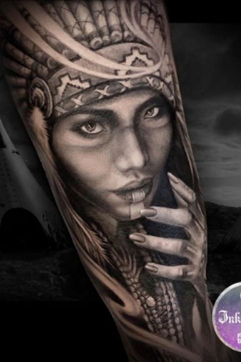 Black Grey Realism Portrait Tattoo Best Portrait Tattoo Artist Cat Portrait Tattoos