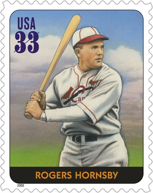 Baseball Hall of Famer Rogers Hornsby was the most impressive right-handed hitter in the history of the game.He won seven batting championships (six in a row) and managed the 1926 St. Louis Cardinals to their first World Championship.