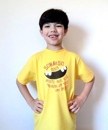 "Camiseta ""Sorriso 1001"""