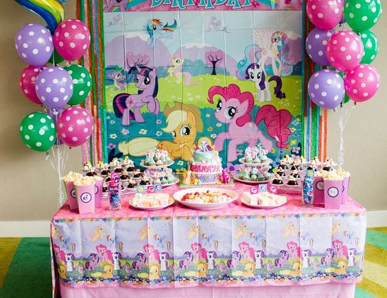 "My Little Pony / Birthday ""Pony Tea Party"" 