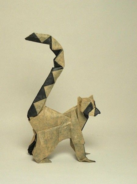 Origami animaux en origami and papier on pinterest - Animaux origami 3d ...