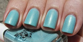 My Life in Polish: Blue-Eyed Girl Lacquer Monster's Tea at Tiffany's