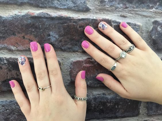 Accent nail jams with gel polish leannemacedo.jamberry.com