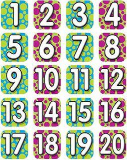 Printables Number Chart 1 – 20 Large pinterest el global de ideas large printable numbers 1 20 number chart 20