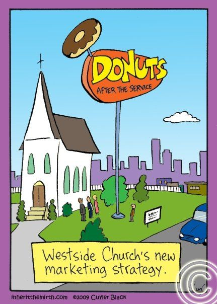 Donuts (After the Service):