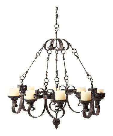Industrial Chandelier - regularly $310, Zulily price $149.99 1/2/2014 - Want!
