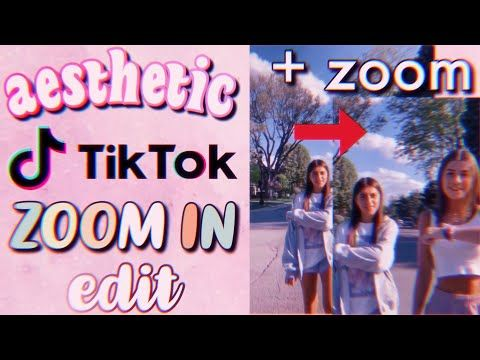 How To Make An Aesthetic Zoom In Vhs Tiktok Video Trendy Smooth Zoom Tiktok Effect Youtube Aesthetic Videos Tutorial Editing Tutorials