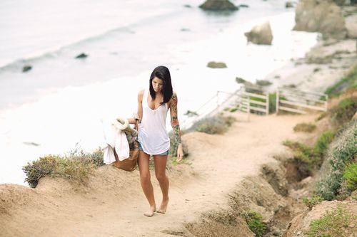 Beach...barefoot...heaven!